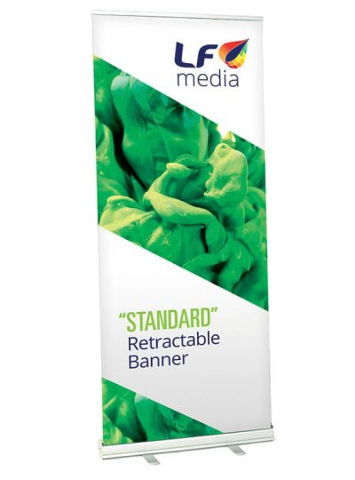Cheap Pull-up or Roll-up retractable banner