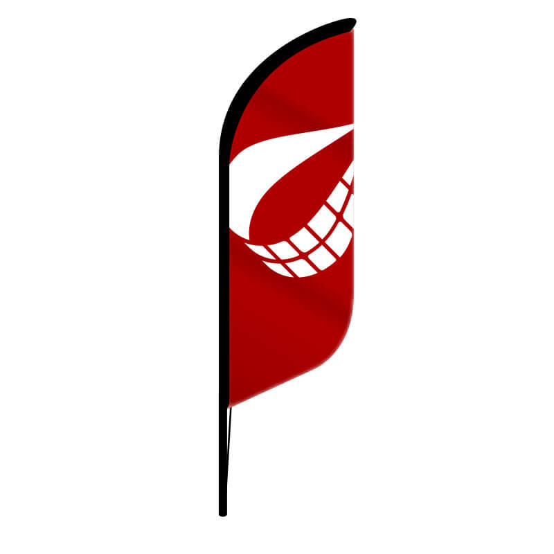 Perth Banner Flags - Feather