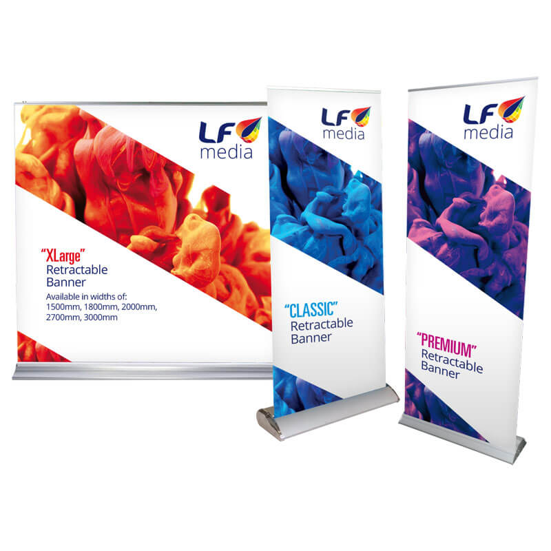 Extra Wide Pull-up Banners