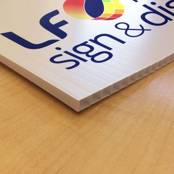 Cheap printed coreflute Perth. Our Swiss UV inks outlast most other competitors and our quality can't be beat.
