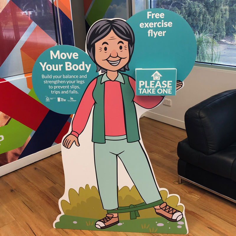 Life size cutout and standees Perth