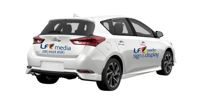 Cheap Logo Stickers for Hatchback Perth