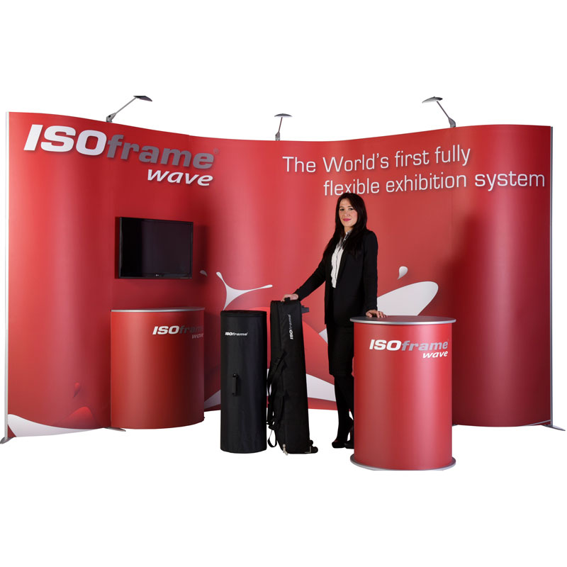 Free standing expo booth Perth