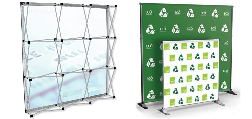 Pop-up X-Frame Display Wall Perth