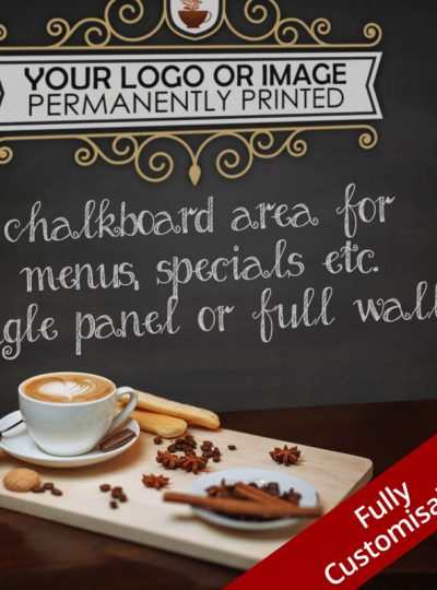 Custom Printed Cafe Chalkboards Perth