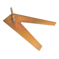 Banner Flag Perth - Vehicle Tyre Mounting Plate