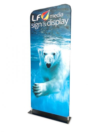 Stretch Fabric Display Stand Perth